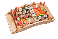 Sushi different nations Stock Photos