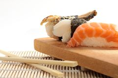 Sushi different types Stock Image