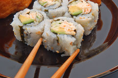 Sushi for dinner Royalty Free Stock Photo