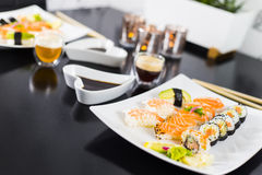 Sushi Dinner Royalty Free Stock Photography