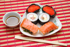 Sushi dish Stock Photography