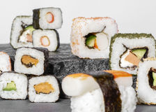 Sushi dish variation Stock Photography