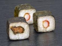 Sushi dish variation Royalty Free Stock Images