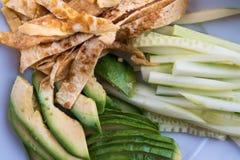 Sushi - diversos ingredientes en las placas alistan y se prepararon Imagen de archivo libre de regalías