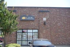 Sushi do atum amarelo e grade de Hibachi, Hernando, MS fotos de stock royalty free