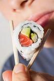 Sushi do gosto imagem de stock