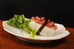 Sushi do polvo Imagens de Stock