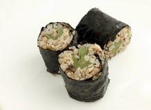 Sushi do trigo mourisco Imagens de Stock