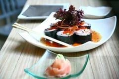 Sushi du Japon Images libres de droits