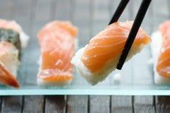 Sushi e maki Fotografie Stock Libere da Diritti