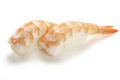 Sushi - Ebi nigiri Royalty Free Stock Photo