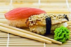 Free Sushi Eel And Tuna Stock Photos - 20020553