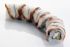 Sushi with eel Royalty Free Stock Image