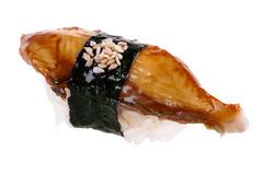 Sushi with eel Stock Photos