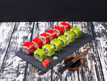 Sushi en Imagen de archivo