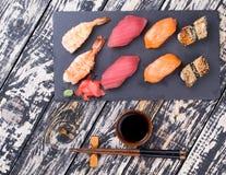 Sushi en Imagen de archivo libre de regalías