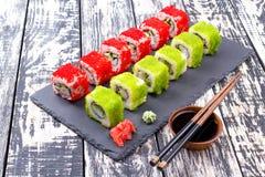 Sushi en Foto de archivo