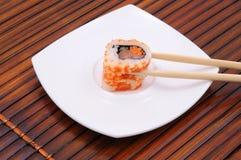 Sushi en broodjes Royalty-vrije Stock Foto's