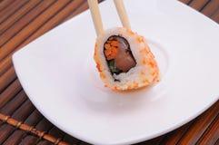 Sushi en broodjes Royalty-vrije Stock Foto