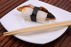 Sushi en broodjes Stock Afbeelding