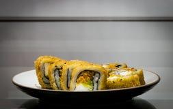 Sushi en el vector Fotografía de archivo