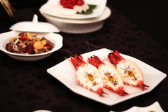 Sushi en Rijst Stock Foto
