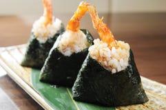 Sushi en sashimi Royalty-vrije Stock Fotografie