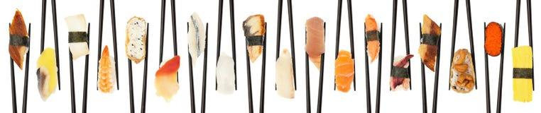 Sushi entrecroisés Image stock