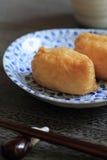 Sushi envuelto en cuajada de habichuelas frita Imagen de archivo