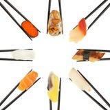 sushi för cirkel ii Royaltyfri Foto