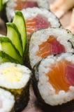 sushi för maki för kokkonstmat japanska Royaltyfria Bilder