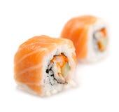 sushi för maki för kokkonstmat japanska Arkivbild