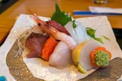 Sushi för matställe Royaltyfria Bilder