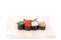 sushi för rullforstudio Arkivbild