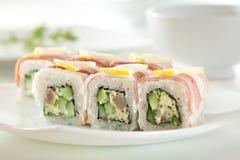 sushi för rullforstudio Royaltyfri Bild