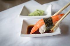 sushi för rullforstudio Royaltyfri Fotografi