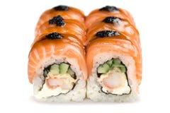 sushi för rullforstudio Fotografering för Bildbyråer