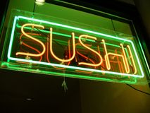 Sushi für Abendessen Lizenzfreie Stockbilder