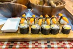 sushi faits maison image libre de droits