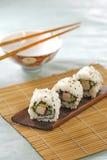 Sushi fins Photographie stock libre de droits