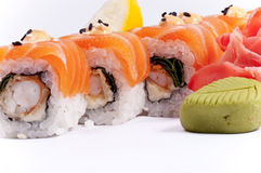 Sushi from fish Stock Photos