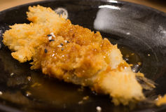 Sushi fish. Fish wheel water victuals unite turn sway shuhi spin salmon rotation roller Royalty Free Stock Photography