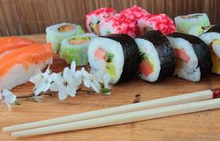 Sushi food Stock Images