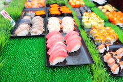 Sushi on sale Royalty Free Stock Images