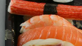 Sushi Food stock video