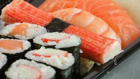 Sushi Food stock video footage