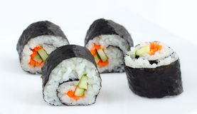 Sushi food style in Japan. Stock Photo