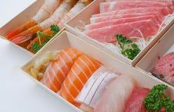 Sushi frais à Taïpeh photographie stock libre de droits