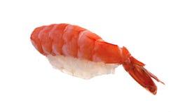 Sushi frais sur le fond blanc photos libres de droits