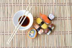 Sushi freschi Immagine Stock Libera da Diritti